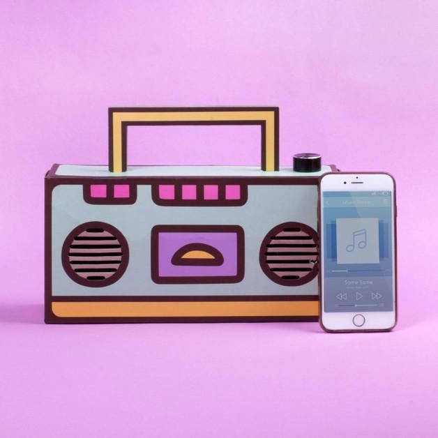 Pusheen Bluetooth Speaker Diy Boombox At Mighty Ape Nz