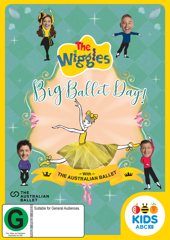 The Wiggles: Big Ballet Day! on DVD