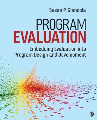 Program Evaluation by Susan P. Giancola
