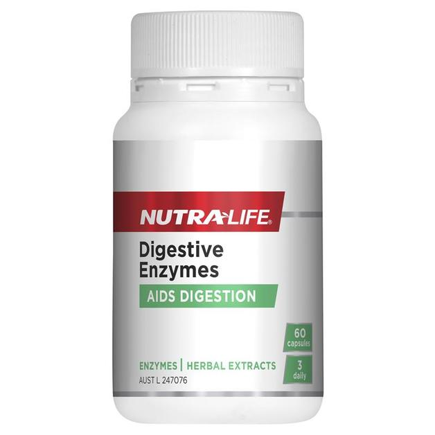 Nutra Life: Digestive Enzymes Caps (60s)