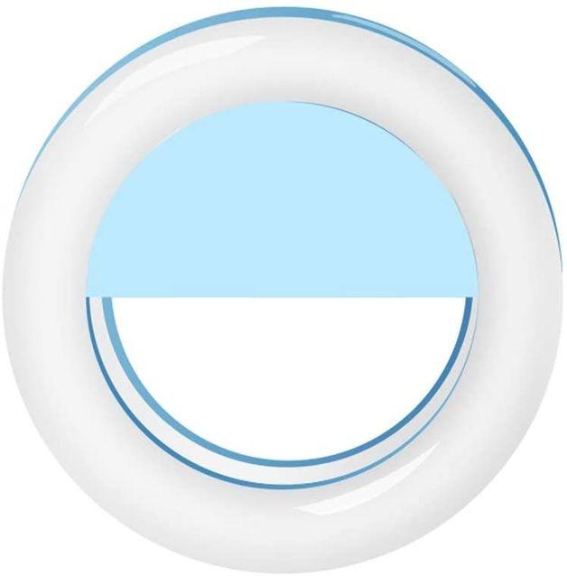 Selfie Ring Light (Light Blue)