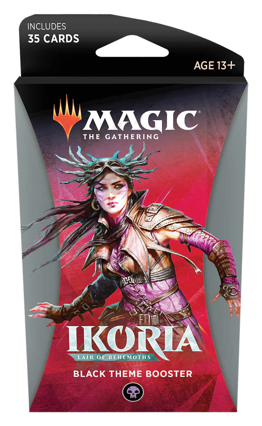 Magic the Gathering: Ikoria: Lair of Behemoths - Theme Booster Black image