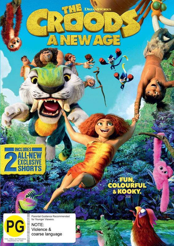 The Croods 2: A New Age on DVD