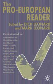 The Pro-European Reader image
