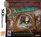 Mystery Case Files - Millionheir for Nintendo DS