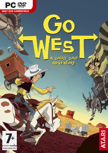 Lucky Luke: Go West!  for PC Games image