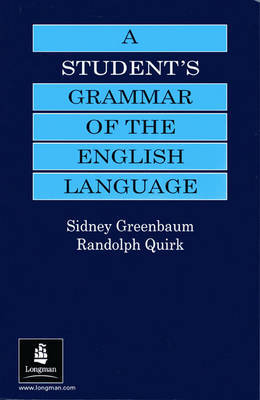 A Student's Grammar of the English Language by Sidney Greenbaum image