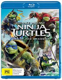 Teenage Mutant Ninja Turtles: Out of the Shadows on Blu-ray