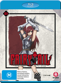 Fairy Tail Collection 21 - (Eps 240-252) on Blu-ray