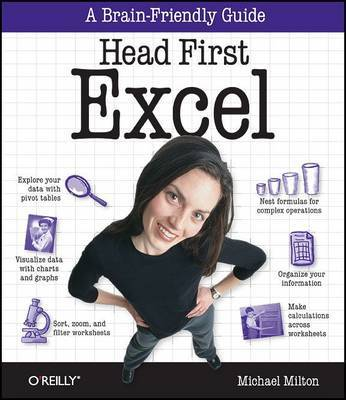 Head First Excel by Michael Milton image