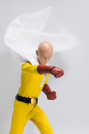 One Punch Man: 1/6 Saitama - Premium Articulated Figure