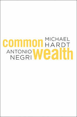 Commonwealth by Michael Hardt