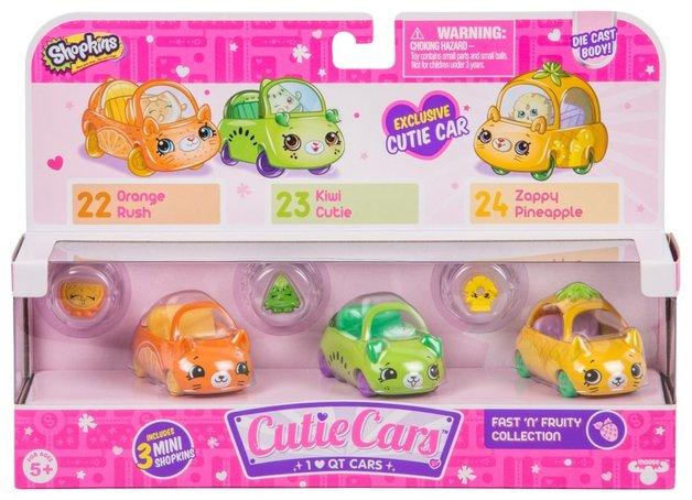 Shopkins: Cutie Cars 3-Pack - Fast 'N' Fruity