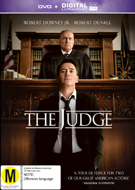 The Judge on DVD