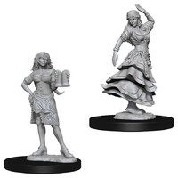 Pathfinder Deep Cuts: Unpainted Miniatures - Bartender/Dancing Girl