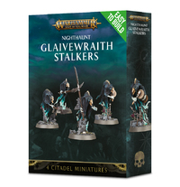 Warhammer Age of Sigmar: Easy to Build Glaivewraith Stalkers