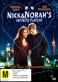 Nick & Norah's Infinite Playlist on DVD image