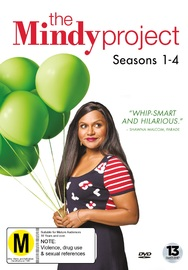 The Mindy Project: Seasons 1-4 on DVD
