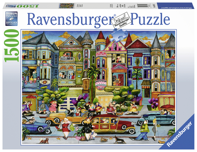 Ravensburger: 1,500 Piece Puzzle - The Painted Ladies