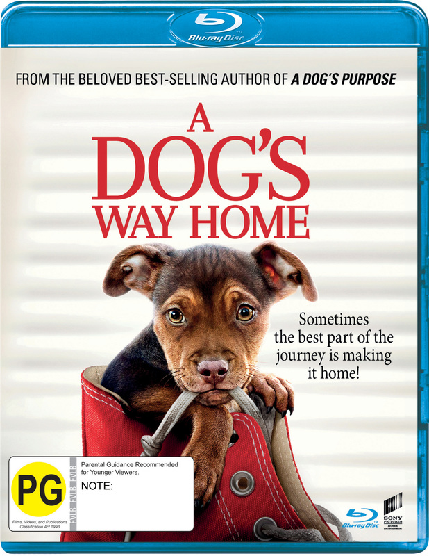A Dog's Way Home on Blu-ray
