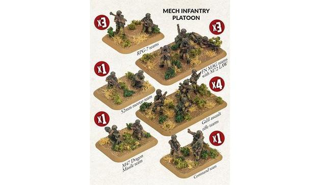 Israeli Mech Infantry Platoon