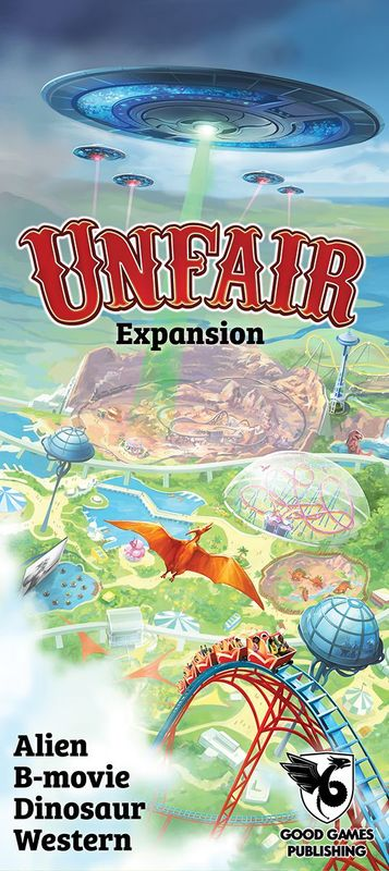 Unfair: Alien B-movie Dinosaur Western - Expansion