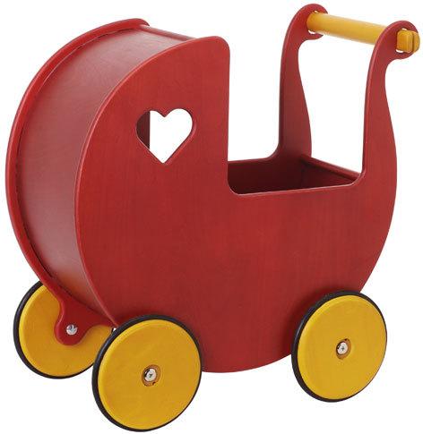 Moover Doll's Pram - Red image
