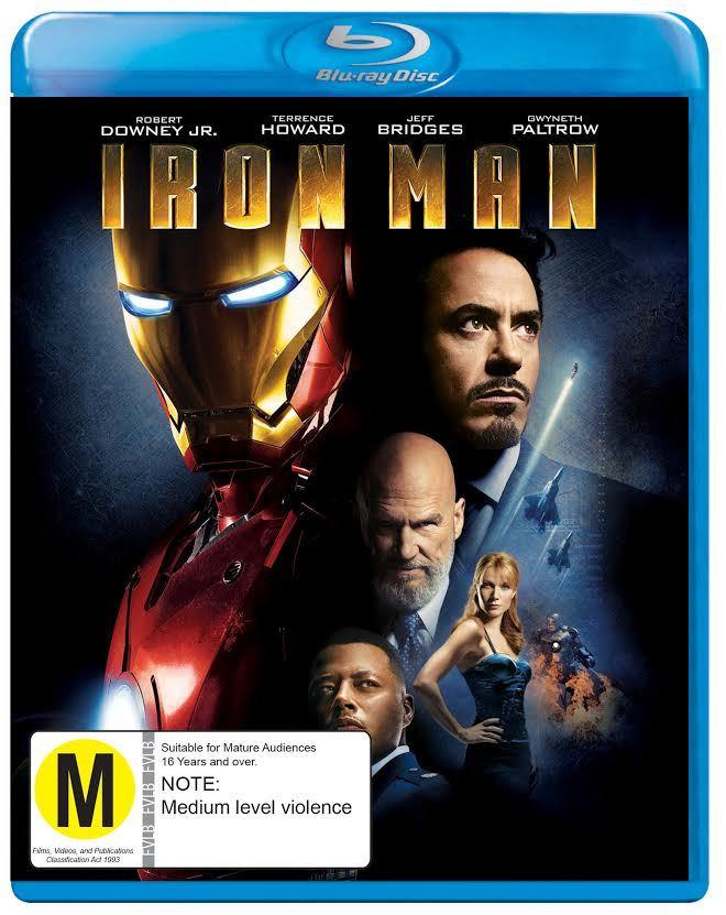 Iron Man on Blu-ray image
