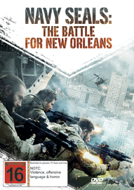 Navy Seals - The Battle For New Orleans DVD