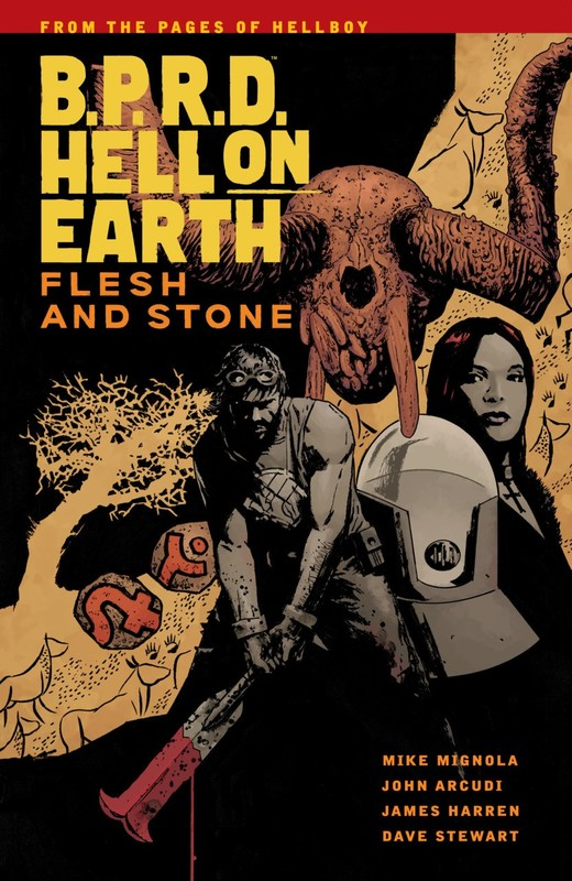 B.P.R.D Hell on Earth Vol. 11: Flesh and Stone by Mike Mignola