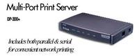 D-Link  2X SER./1X PAR. PORT 10/100 PRINT SERVER image