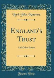 England's Trust by Lord John Manners image
