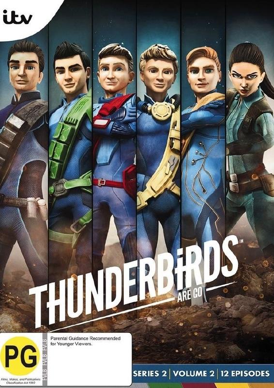 Thunderbirds Are Go: Series 2 - Volume 2 on DVD