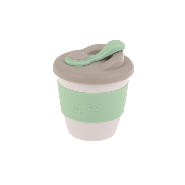 Oasis Plastic Coffee Cup - Spearmint (227ml)