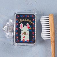 Natural Life: Toothbrush Cover - Llama Llive