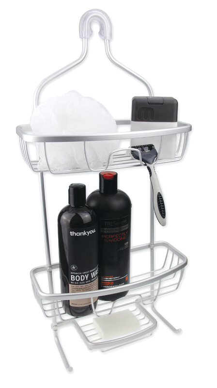 Urban Lines: Cove Aluminium Shower Caddy