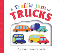 A Traffic Jam of Trucks by Roger Priddy