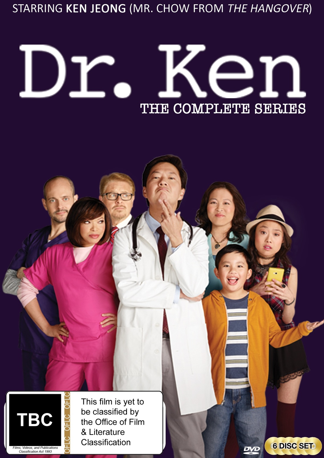 Dr Ken - The Complete Series on DVD image