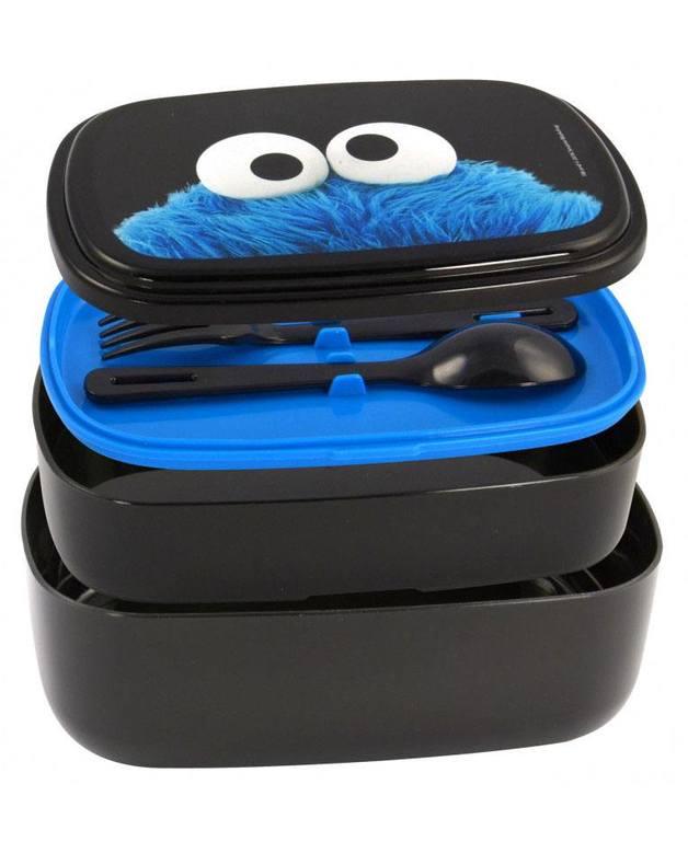 Sesame Street: Bento Box Set Cookie Monster
