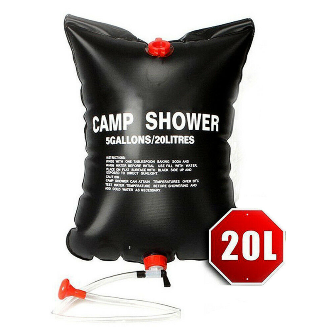 Camping Solar Shower - 20L