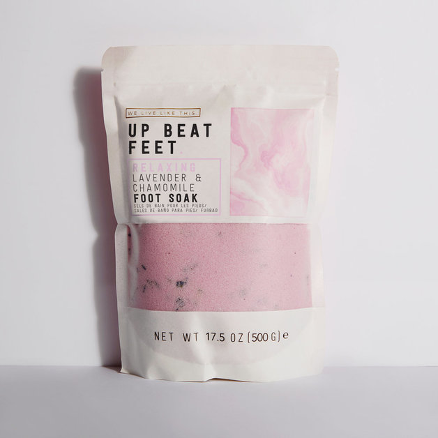We Live Like This: Up Beat Feet Foot Soak - Lavender Chamomile (500g)