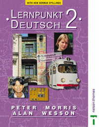 Lernpunkt Deutsch: Stage 2: With New German Spelling: Students' Book by Peter Morris image