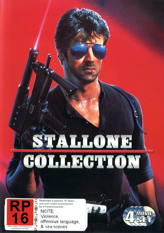 Stallone Collection on DVD