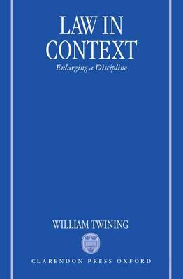 Law in Context by William Twining image