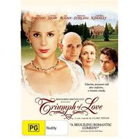 The Triumph Of Love on DVD