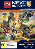 Lego Nexo Knights: Season 1 - Volume 1 DVD