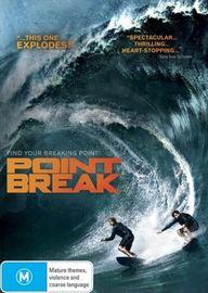 Point Break (2015) on DVD