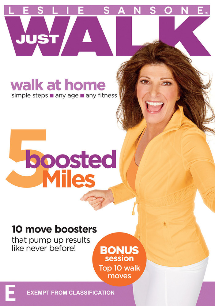 Leslie Sansone - 5 Boosted Miles on DVD image