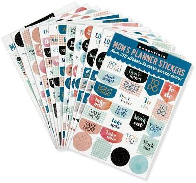 Essentials Mom's Planner Stickers (Set of 575 Stickers) image