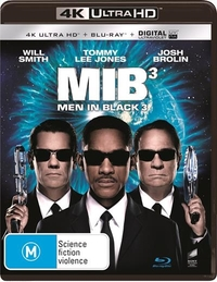 Men In Black 3 on UHD Blu-ray